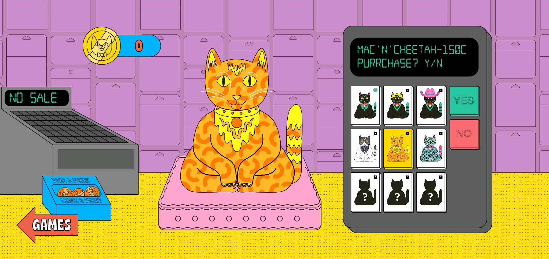 Meow Mart - Website of the Day