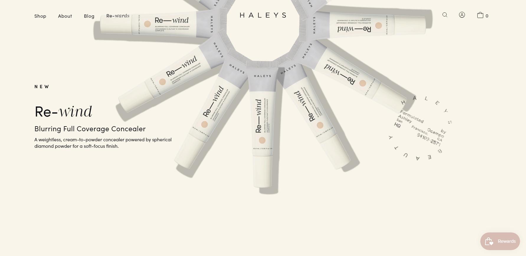 HALEYS BEAUTY - Website of the Day