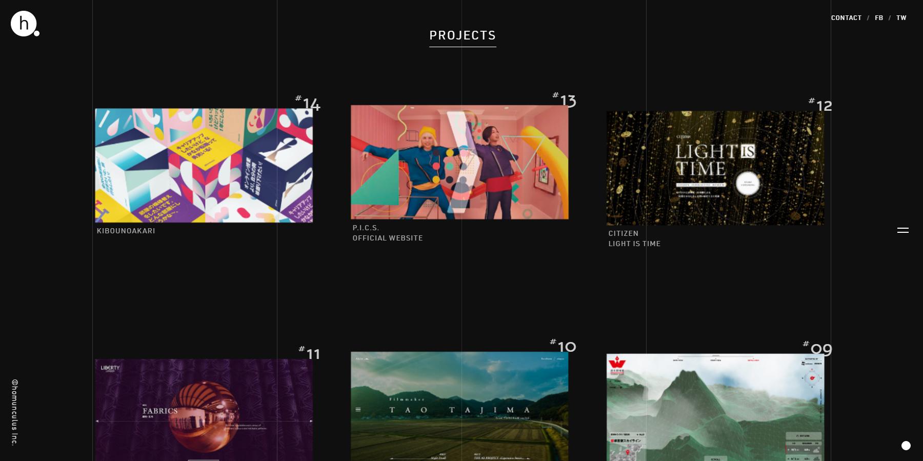 homunculus Inc. - Website of the Day