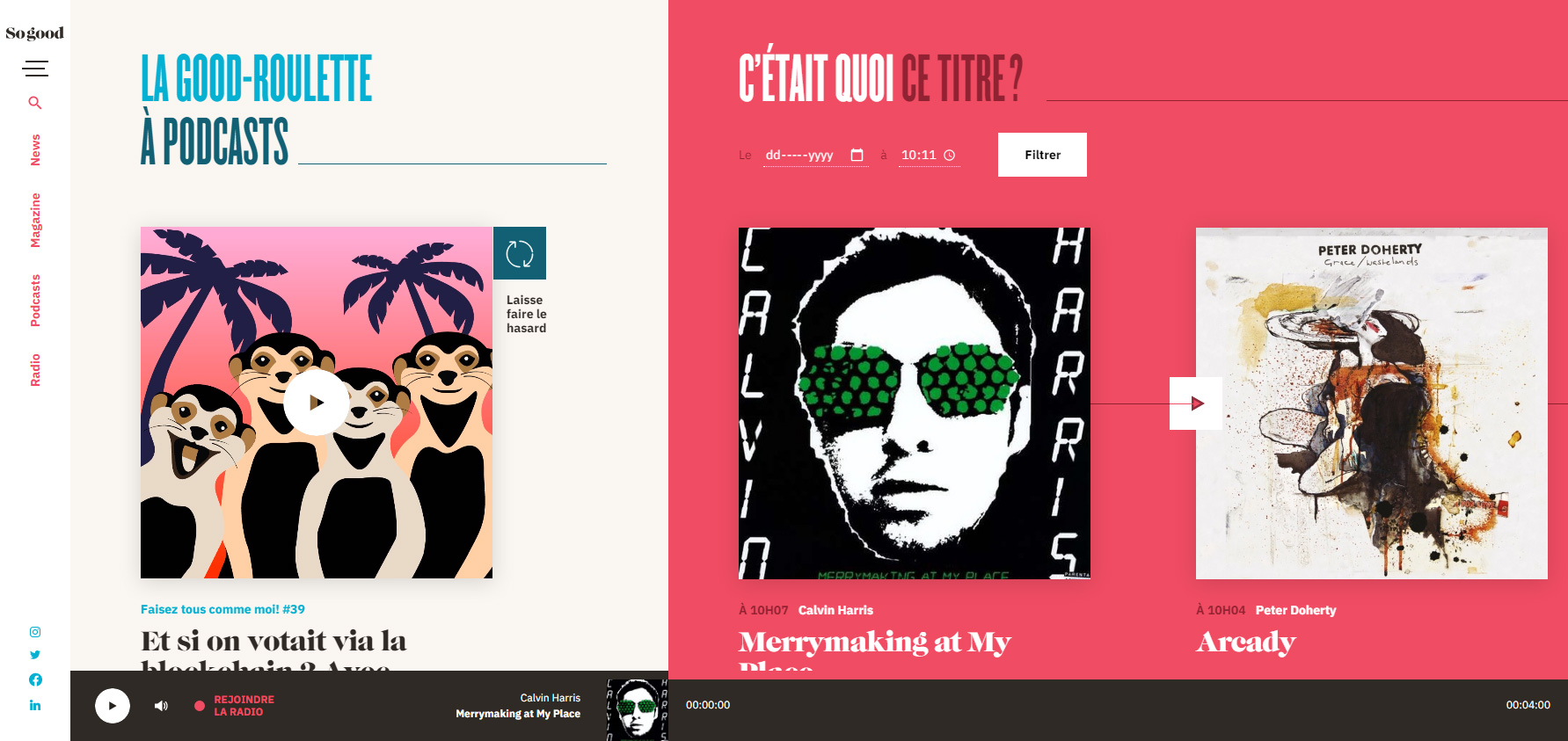 So Good - Website of the Day