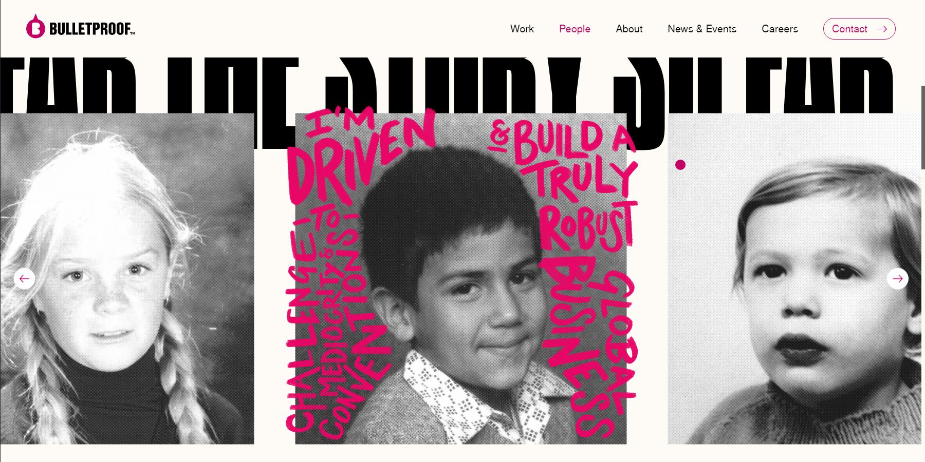 We Bulletproof Brands - Website of the Day