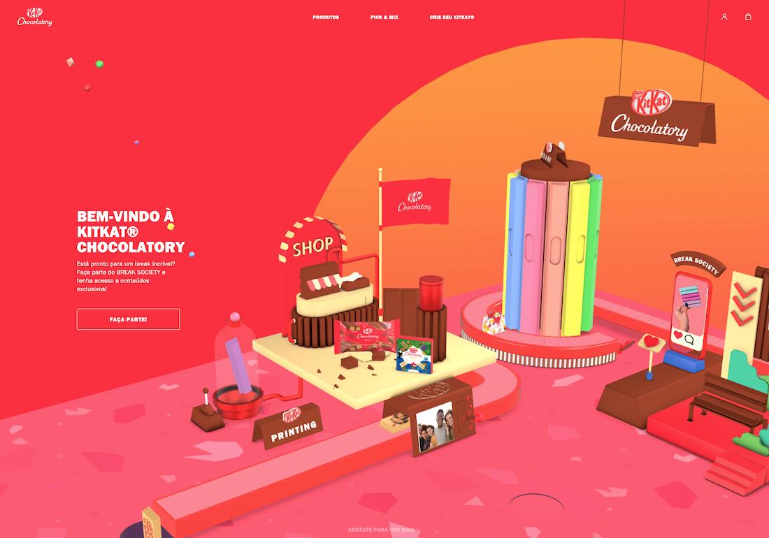 KitKat Chocolatory Brazil Ecommerce