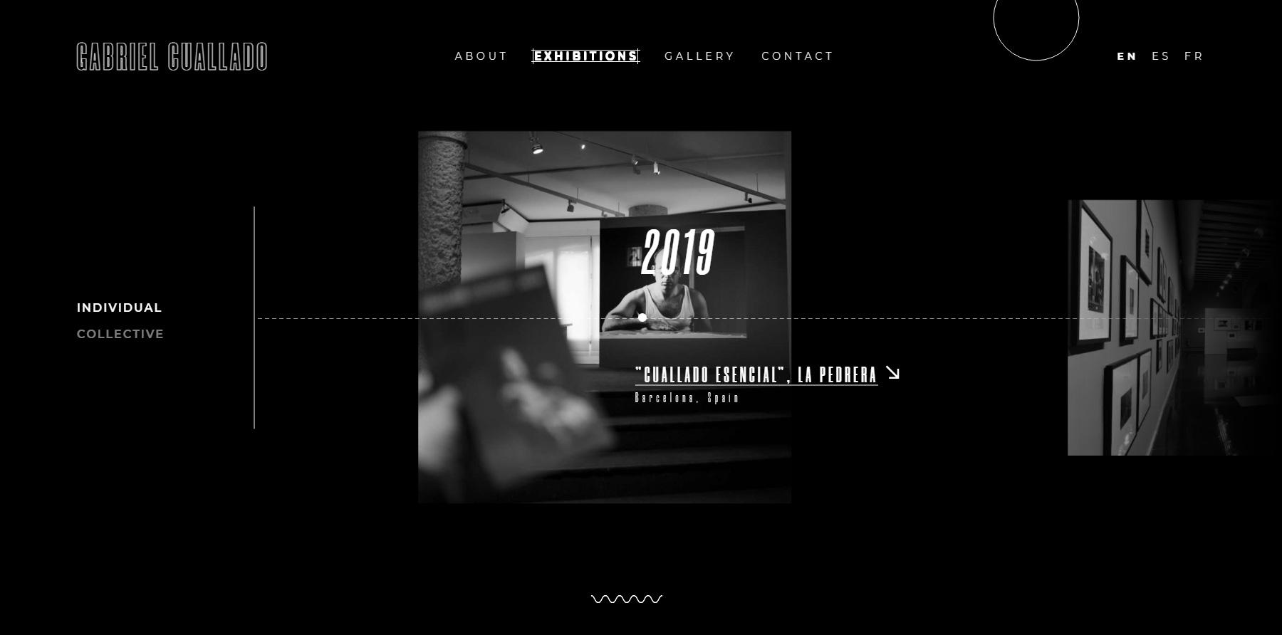 Gabriel Cuallado - Website of the Day
