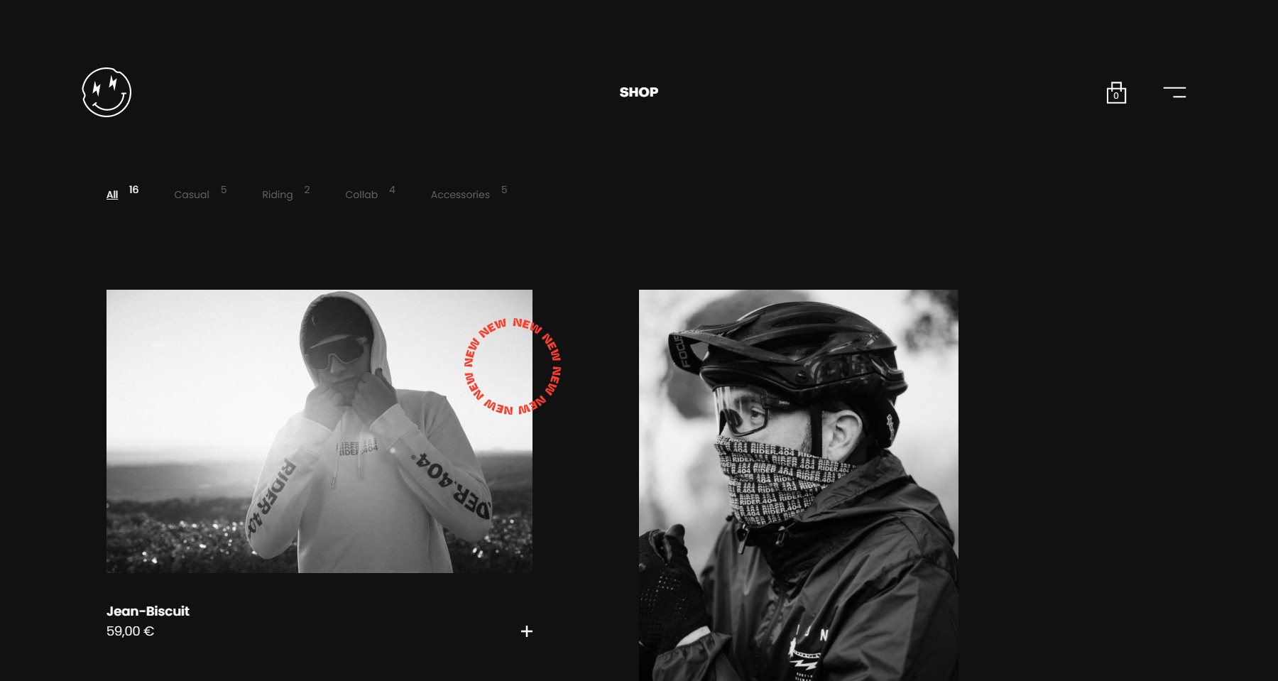 Rider404 - Website of the Day