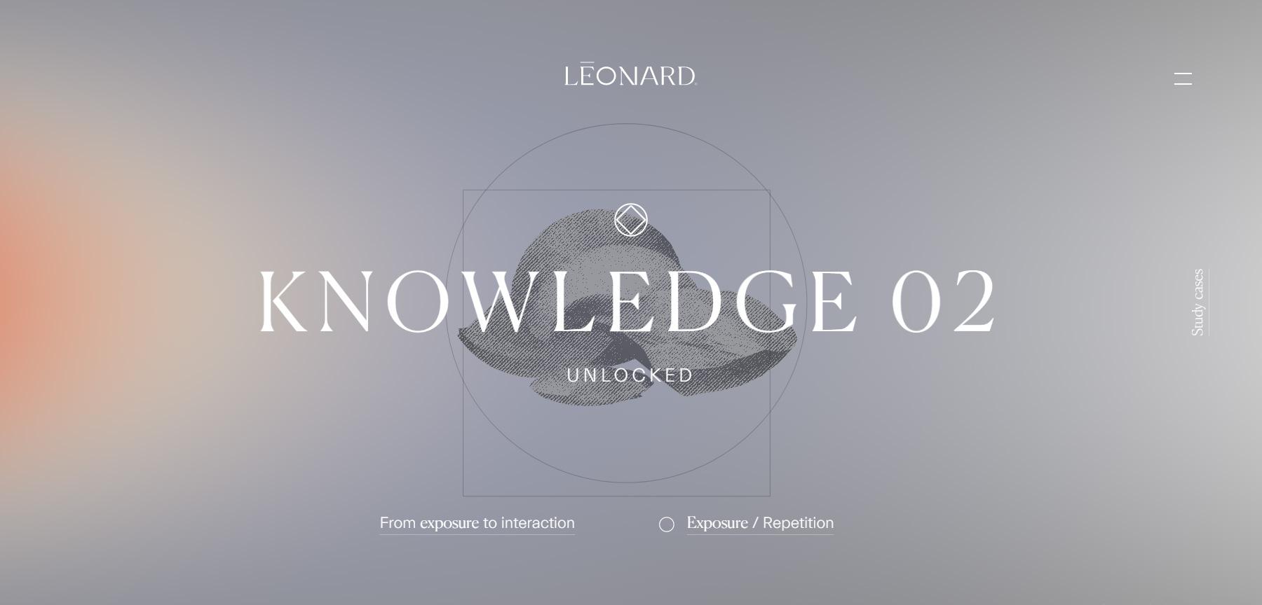 Léonard Agency - Website of the Day