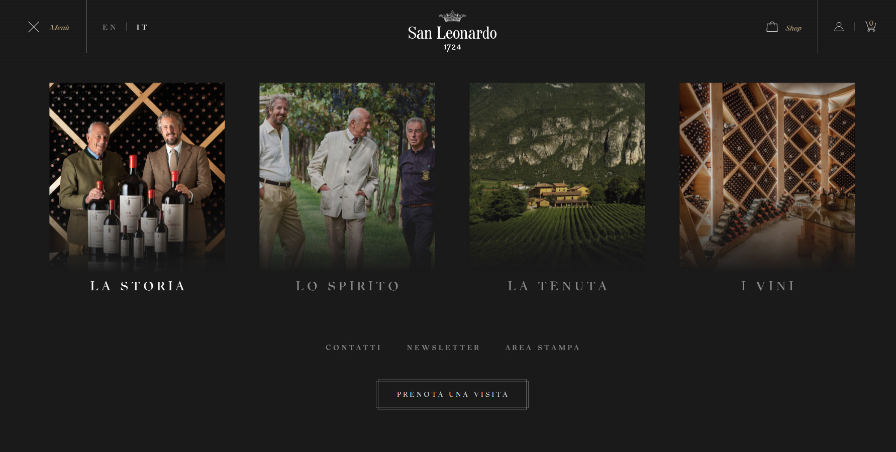 San Leonardo 1724 - Website of the Day