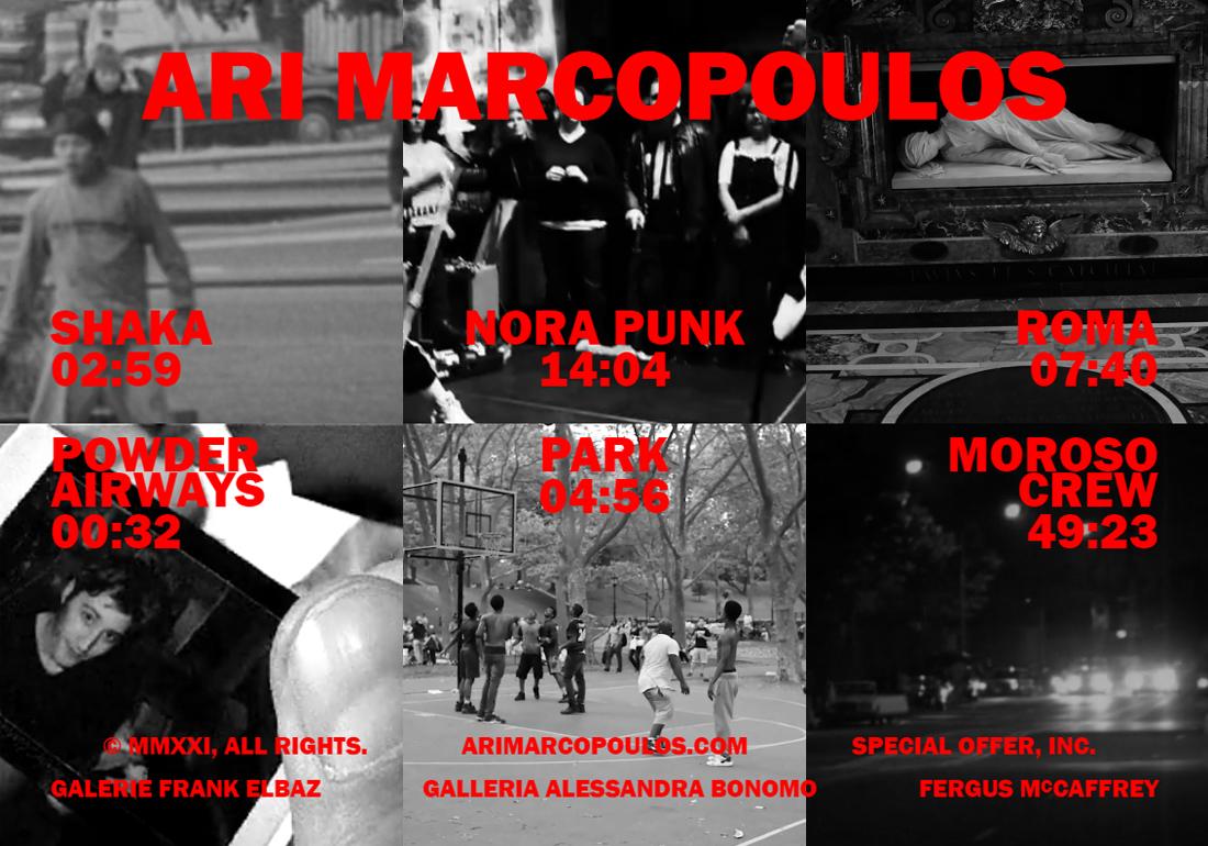 ARI MARCROPOULOS TV