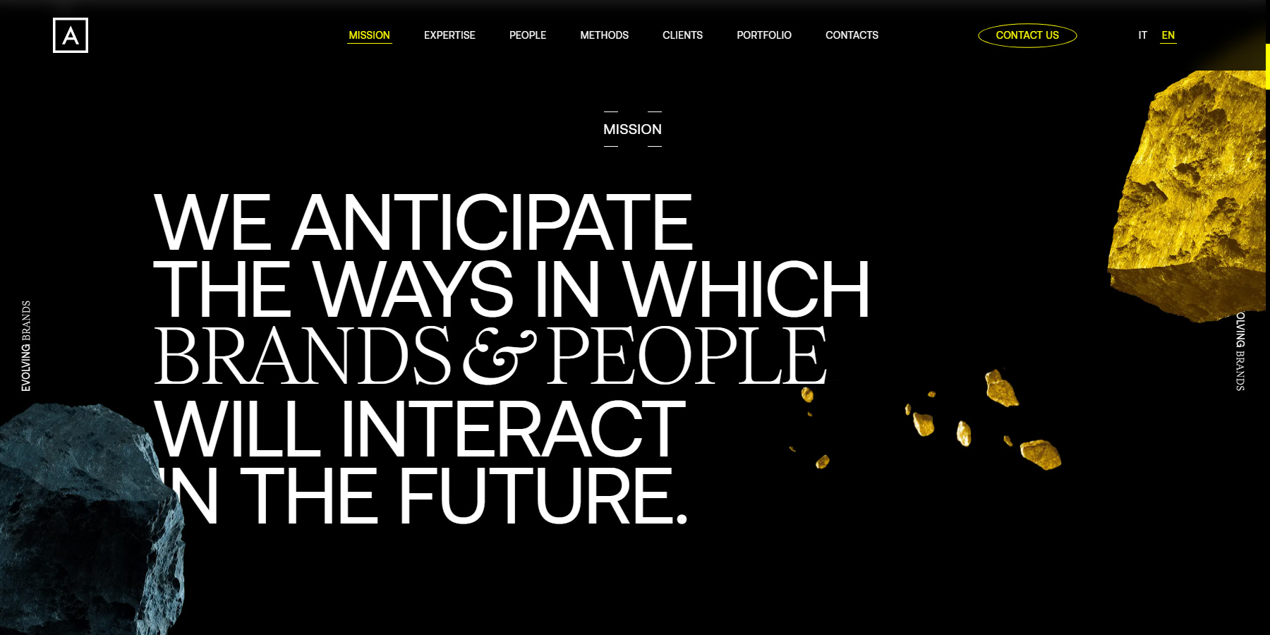 Alkemy Brand Experience - Website of the Day