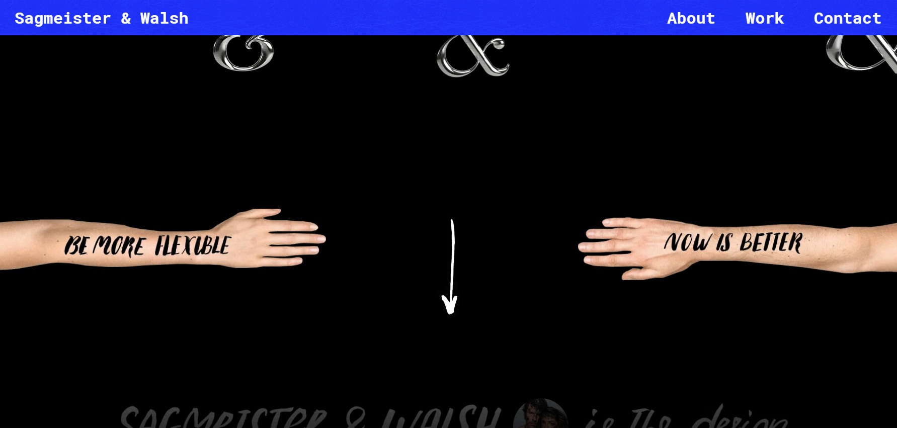 Sagmeister and Walsh - Website of the Day