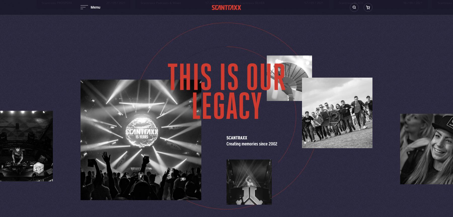 Scantraxx Recordz - Website of the Day