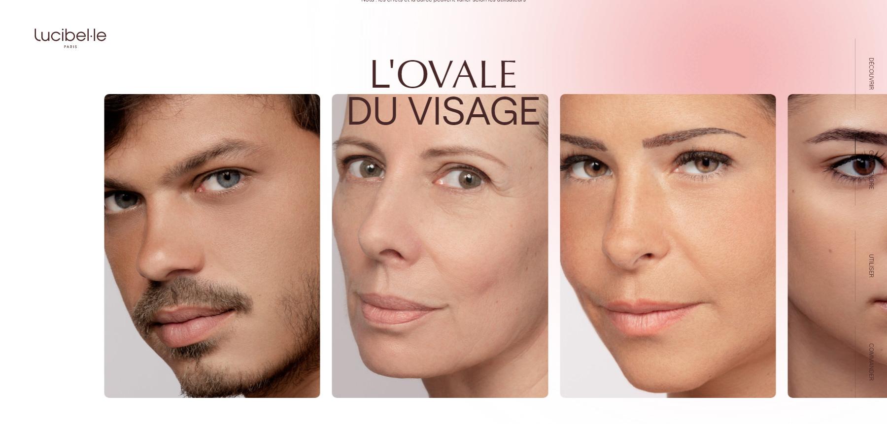 Lucibelle Paris - Website of the Day