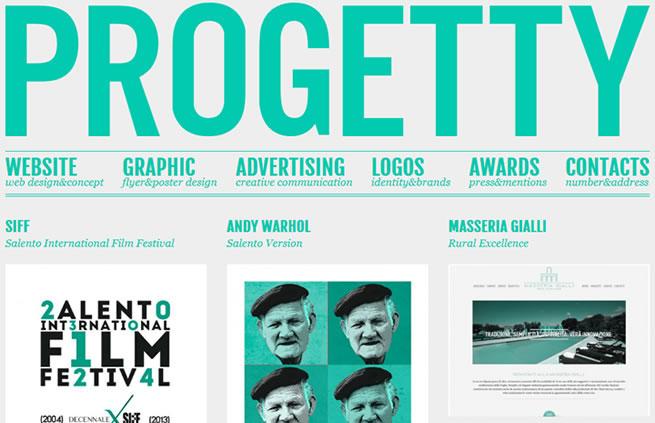 Progetty design portfolio