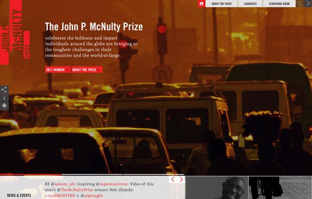 John P. McNulty Prize
