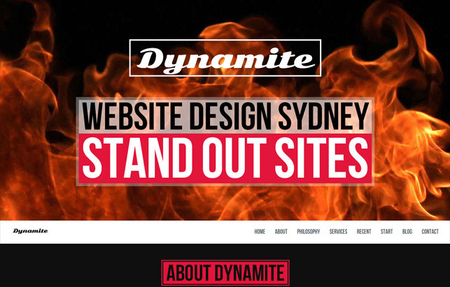 Dynamite Website Design